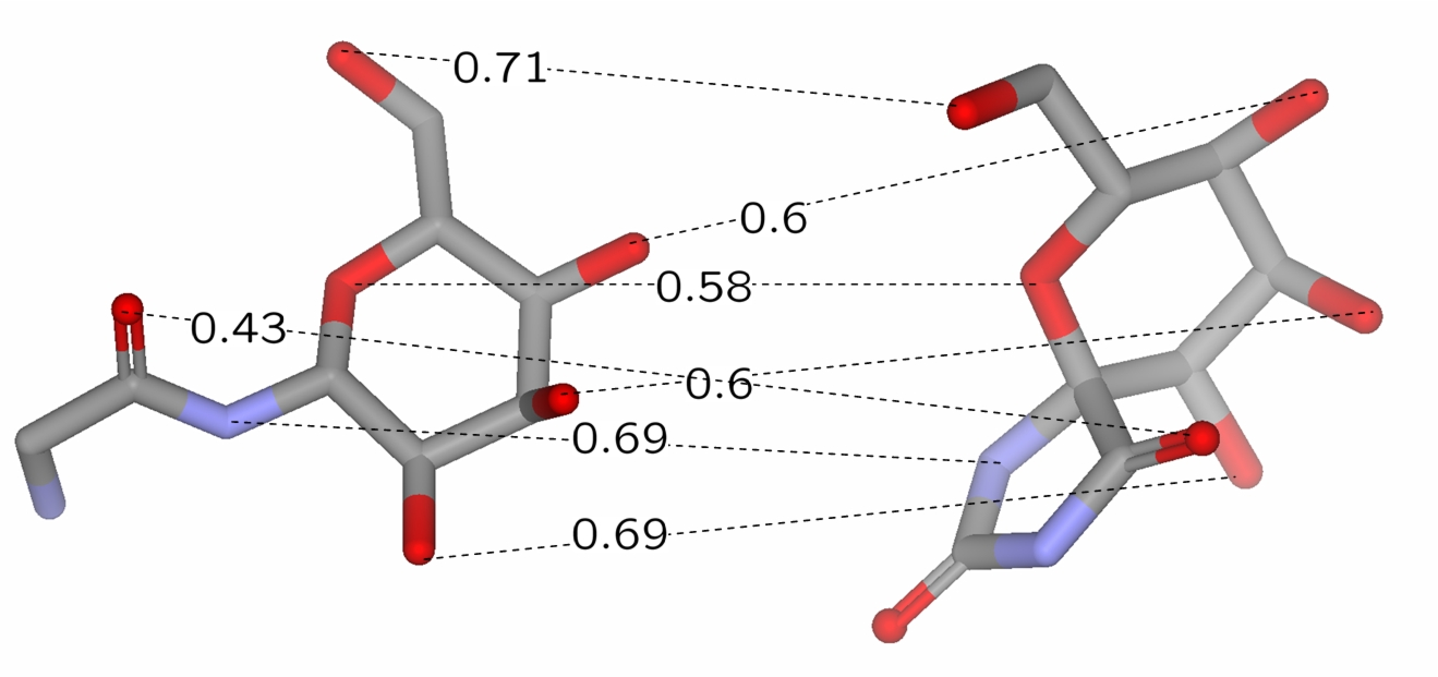 university of t uuml bingen data mining on chemical compounds figure 2 1 optimal assignment of geometrical local atom pair environments